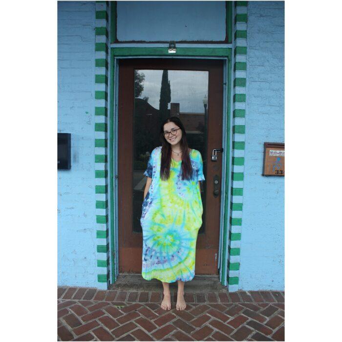 Soulshine Tie Dyed Oversized Dress